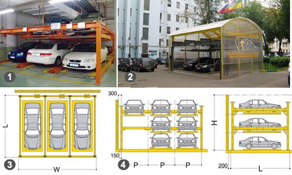 Полуавтоматическая парковка PUZZLE