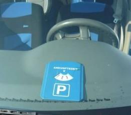 индикатор парковки