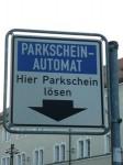 знак парковочный автомат