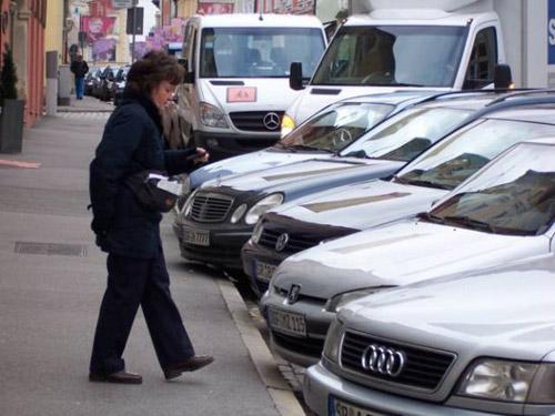 контролеры на парковке