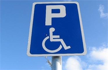 стоянки для инвалидов