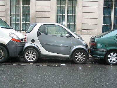 паркуемся в Париже