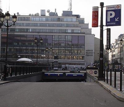паркинг в париже