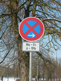 знак парковки
