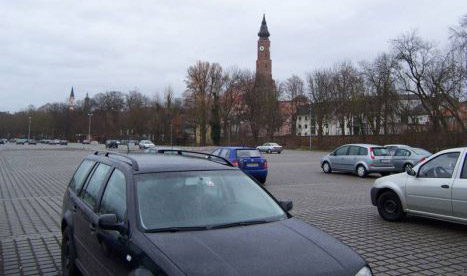 Бесплатная парковка на специальных площадках