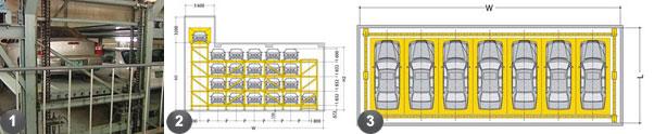 Многоуровневый паркинг BOX PARKING