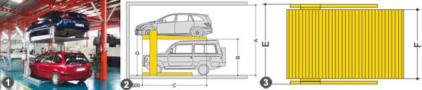 Автомобильный лифт-подъемник
